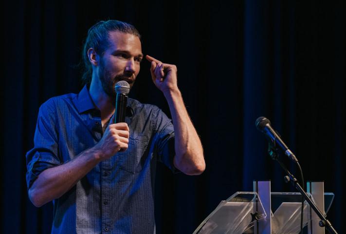 Fabian Ruijgrok spreekt als ervaringsdeskundige over depressie