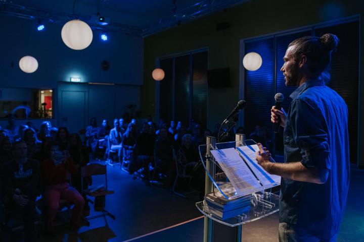 Fabian Ruijgrok spreker seminar depressie