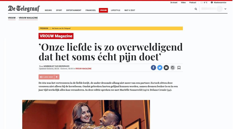 Hoe kom je als ondernemer gratis in de krant? Marielle Sonneveld Delano Cronie VROUW Magazine Jennifer Delano PR Free Publicity in de media Public Relations