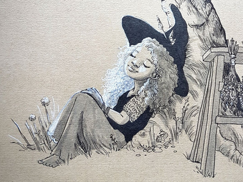 The Little Dreaming Witch