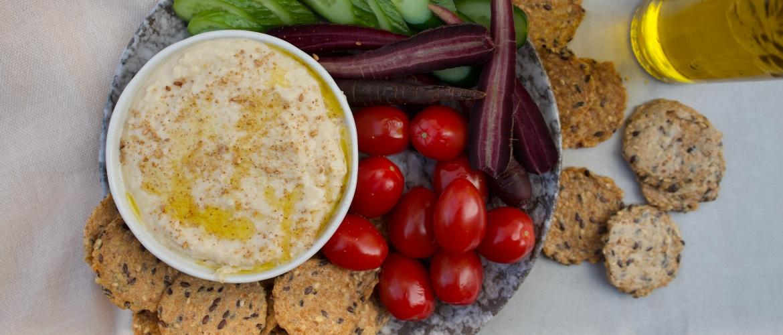 Recept makkelijke en snelle hummus