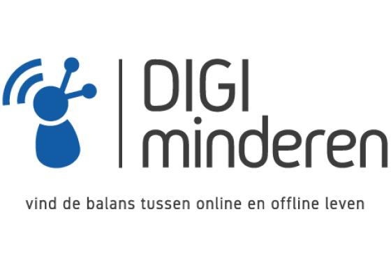 Het digiminderen logo