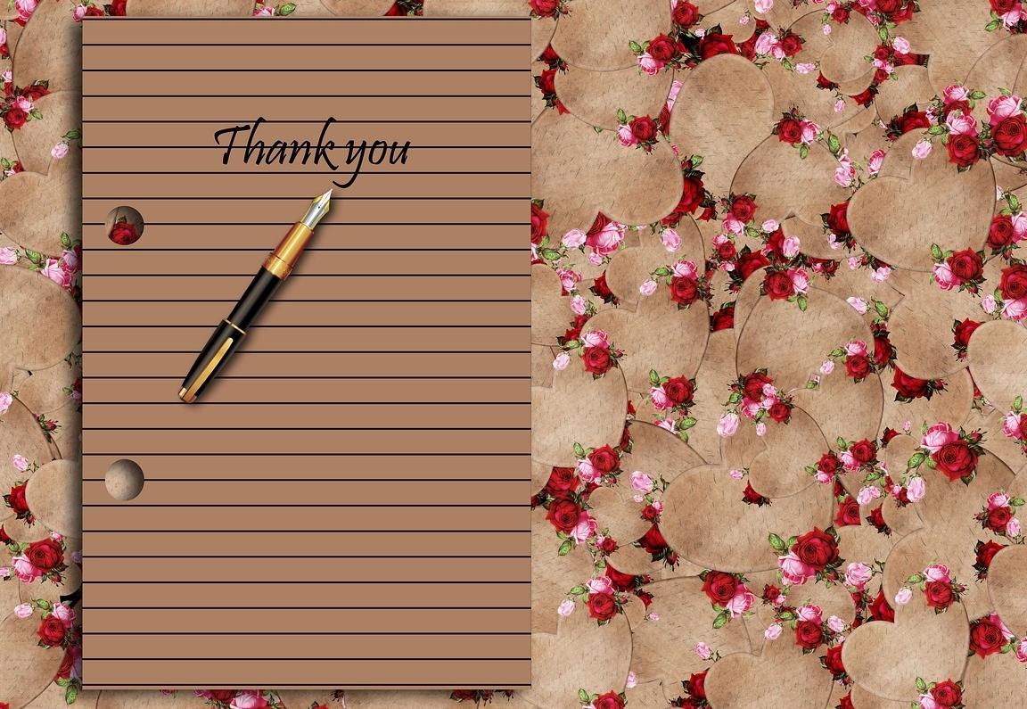 Bedankt Tekst | #50 Mooie Bedankt Teksten Privé en Zakelijk