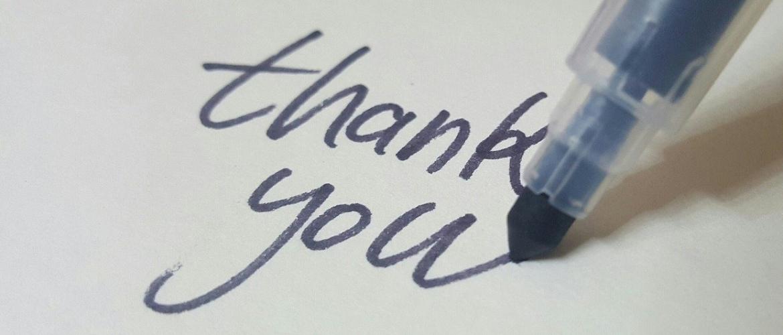 Een bedankt tekst: hét bewijs van dankbaarheid!