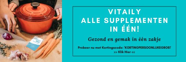 Vitaily Korting en Ervaringen - Alle supplementen in een - kortingscode