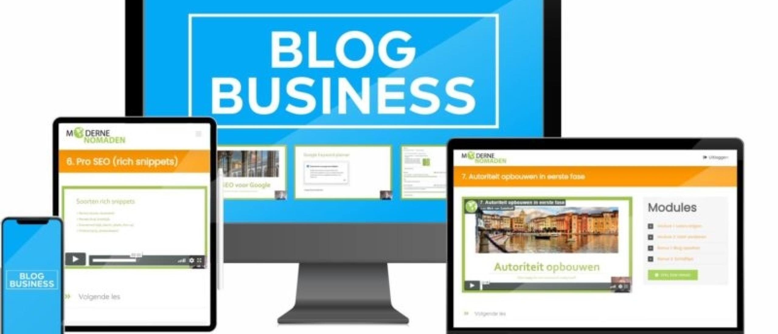Geld verdienen met bloggen? Start met het opbouwen van passieve inkomsten met één van deze cursussen over bloggen!