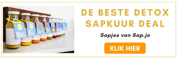 De Beste Detox Sapkuur Deal bij Sap.je Kortingscode Korting