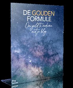 De-gouden-formule Blog Secrets Review (2021) + 85% Korting Geld verdienen met je Blog.