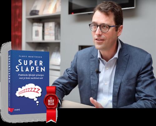 Floris Wouterson - Boek en Masterclass Superslapen