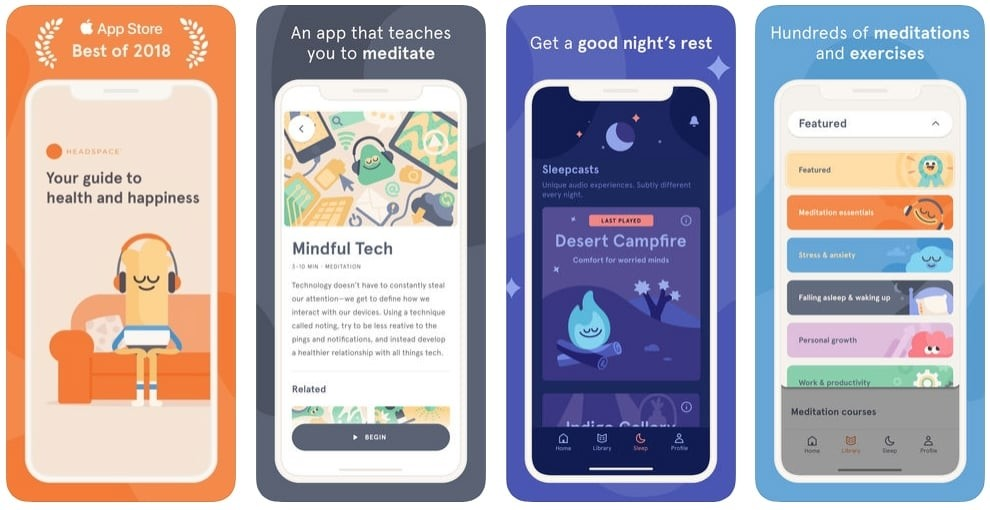 Headspace Meditation & Sleep Review: de all-in meditatie app