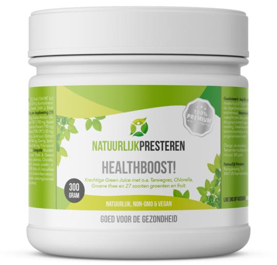Healthboost Beste Green Juice  Review (2021)  8 Green Juices getest + vergelijken!