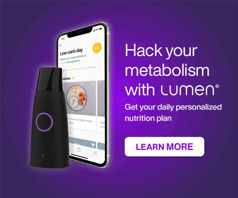 Lumen Metabolisme Tracker - Jouw persoonlijke groei