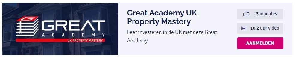 Masters of Property Review + Korting Great Property Experience UK property mastery