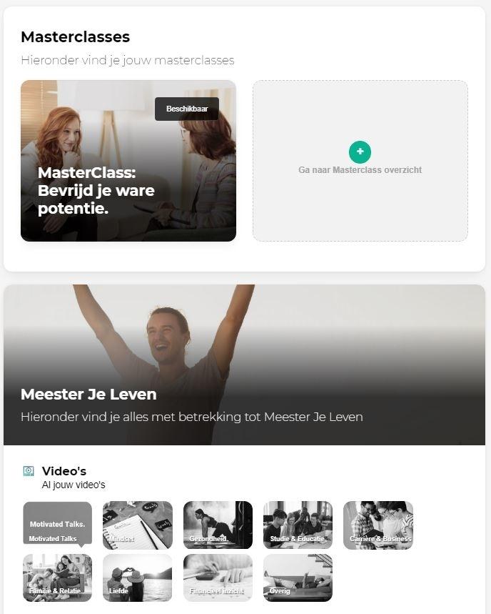 Motivated Minds Review   Gratis WebClasses en Community