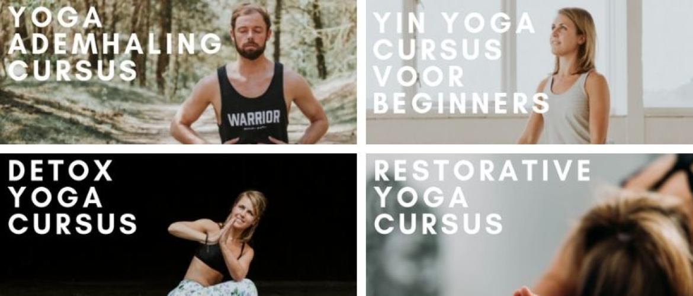Online yogalessen volgen voor maximale ontspanning