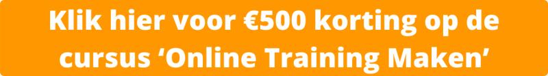 Online Training Maken? | Review (2021) | Cursus Hans van der Klok