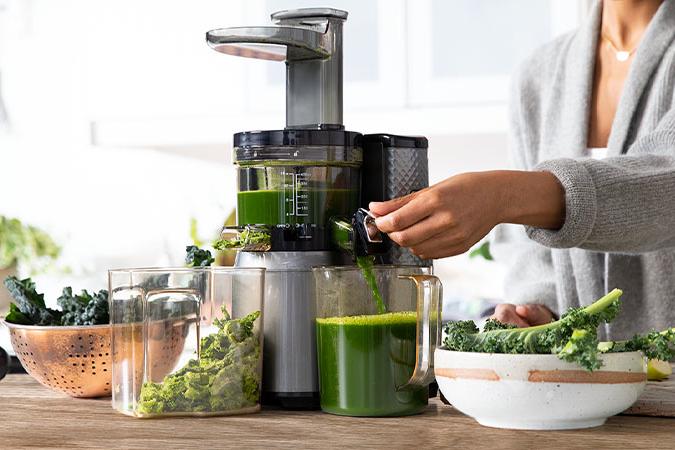 Overzicht van de beste coldpress machines om groentesap te maken.