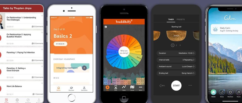 Relax & Meditatie App | 10 Beste Relax & Meditatie Apps