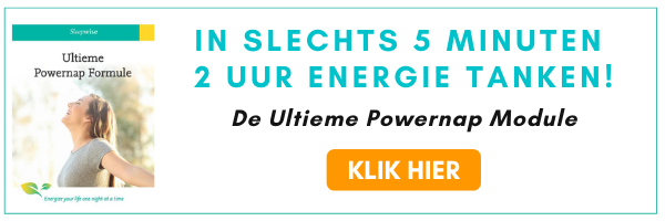 Ultieme Powernap Formule - In Slechts 5 Minuten - 2 uur Energie Tanken!
