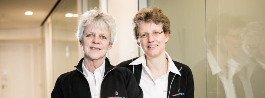 Yvonne Bontekoning en Cocky Hoogeveen Voetentraining korting