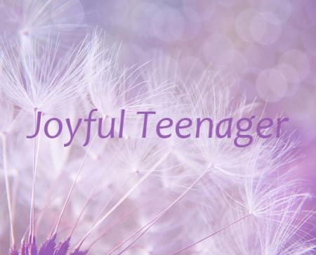 joyful teenager