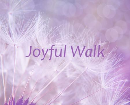 joyful walk