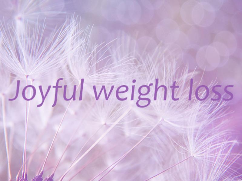 joyful weight loss