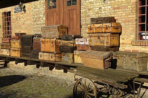 verzamelde bagage
