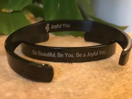 Joyful You armband Black