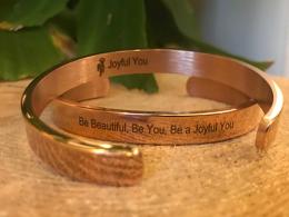 Joyful You armband Rose Gold