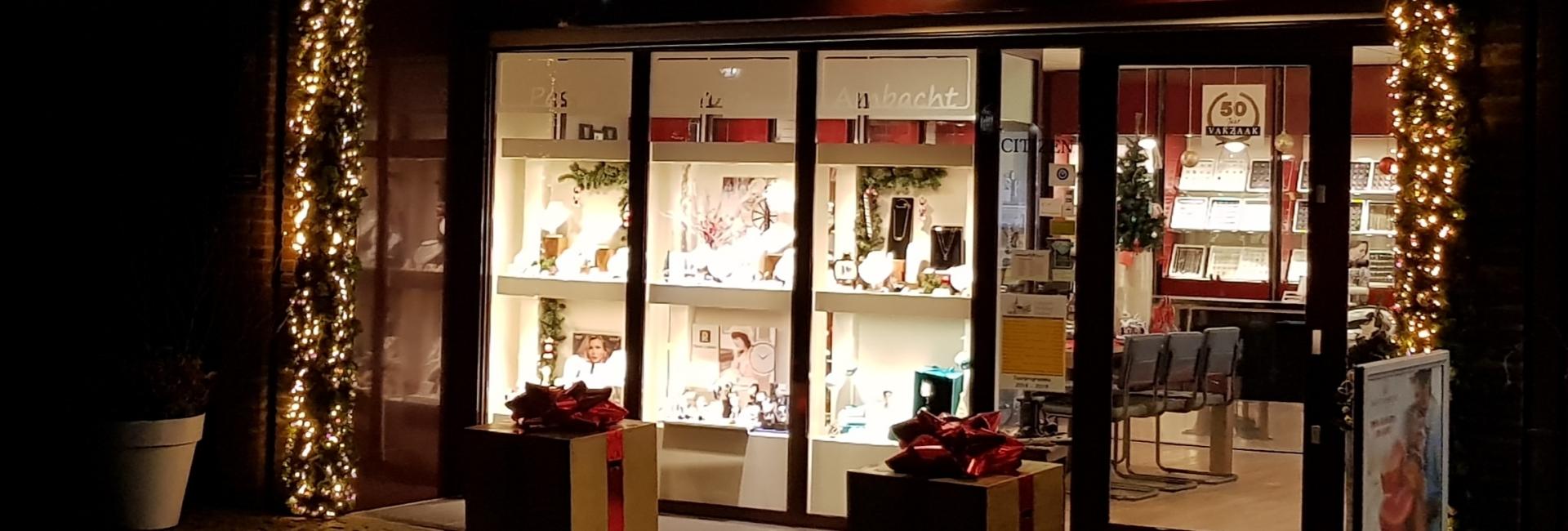 Juwelier Leguit kerst