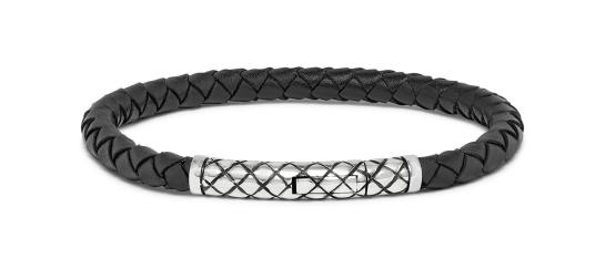 Silk cross armband