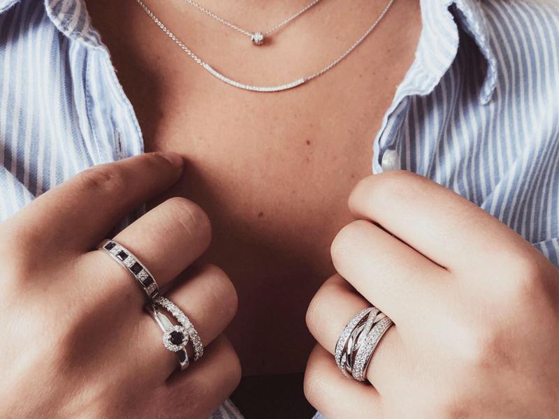 Zilveren sieraden gouden sieraden diamanten sieraden