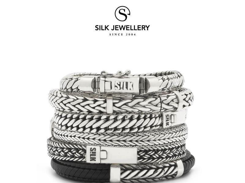 Silk armbanden handgemaakt dealer Juwelier Leguit