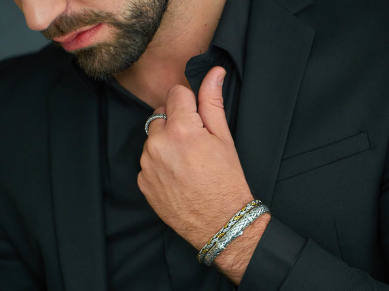 Silk armbanden voor de man