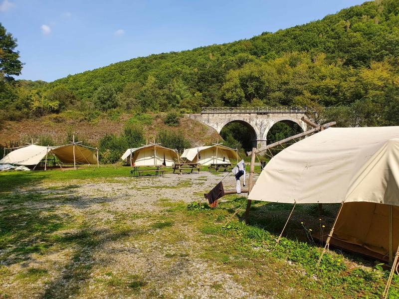 Ardennen Basecamp Kaaiman Reizen Tentenkamp
