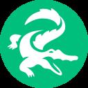 Kaaiman logo wit-groen