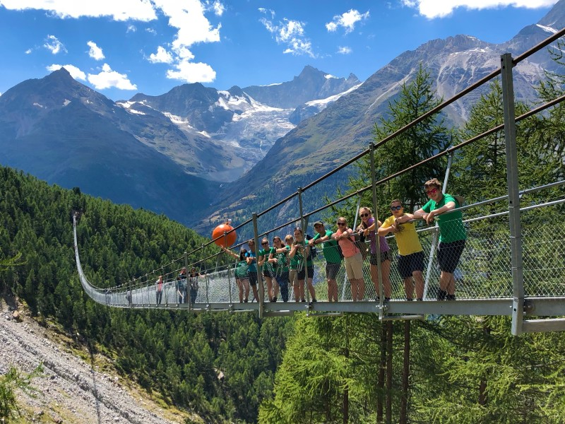 Huttentocht in Zwitserland Kaaiman
