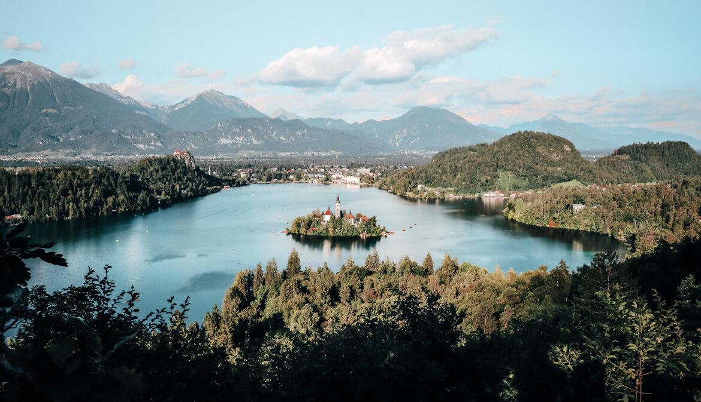 Het meer van Bled
