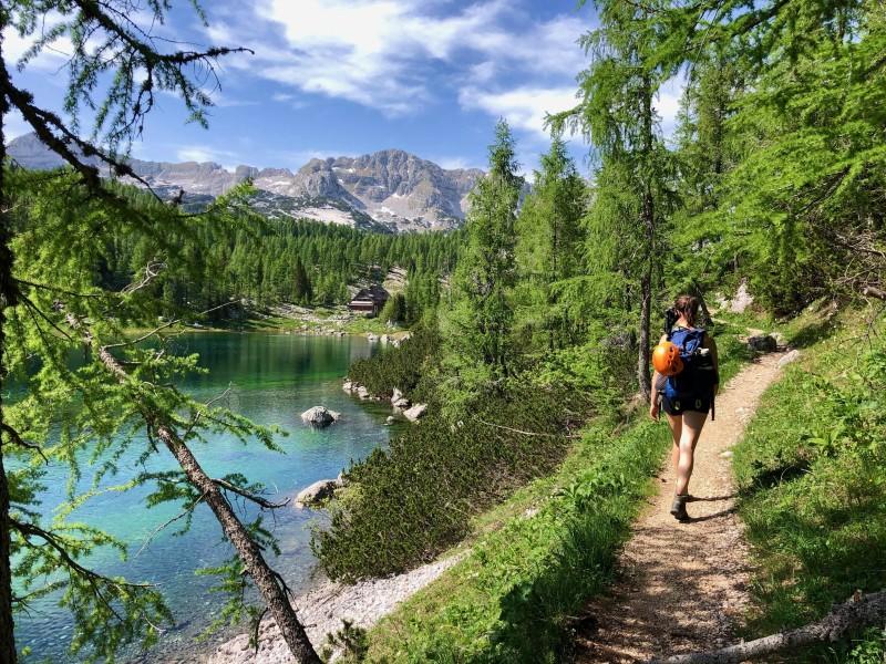 Triglav Lakes Valley Hiker