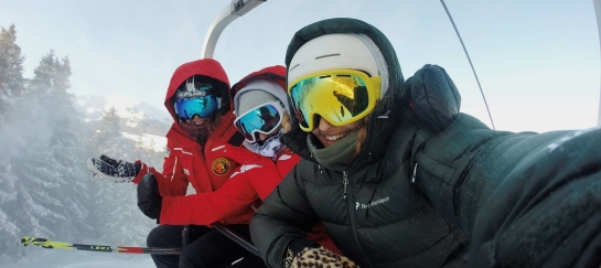 Wintersport groepsreis in Frankrijk