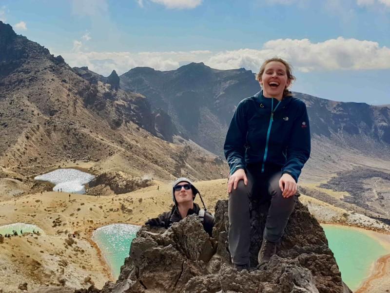 Tongariro Hike met Kaaiman Reizen