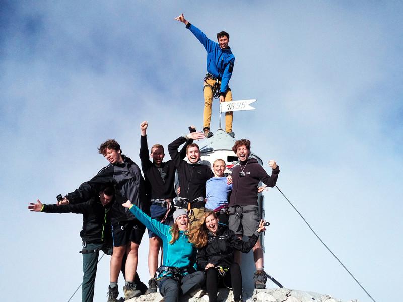 Op de top van de Triglav