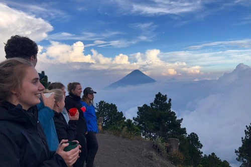 Beklimming Acatenango Vulkaan Groepsreis