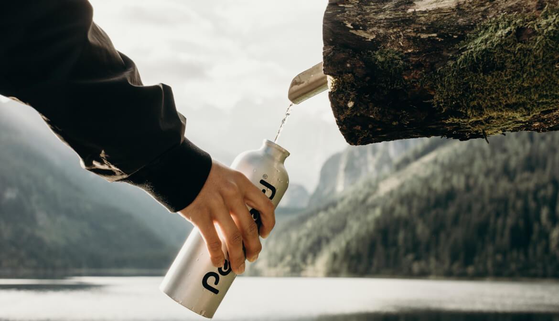 Goede waterfles voor in de backpack