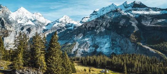 Zwitserland Oeschinensee