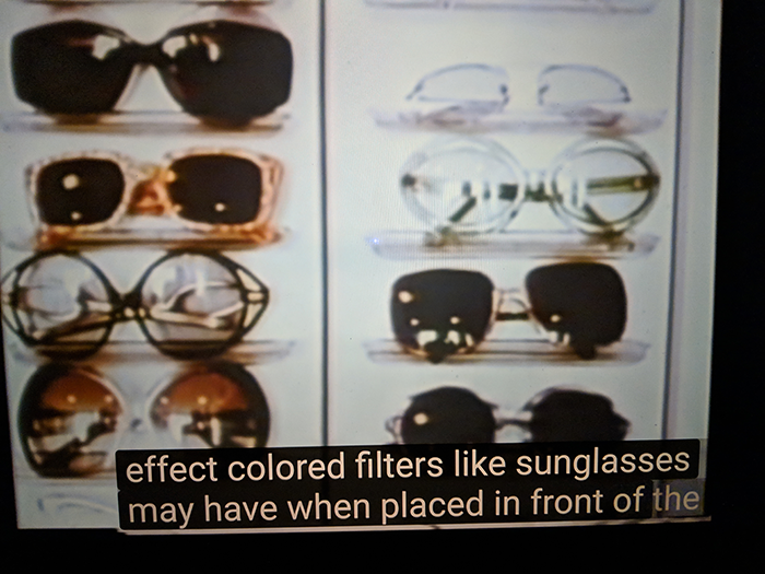 Zonnebrillen kunnen doden?