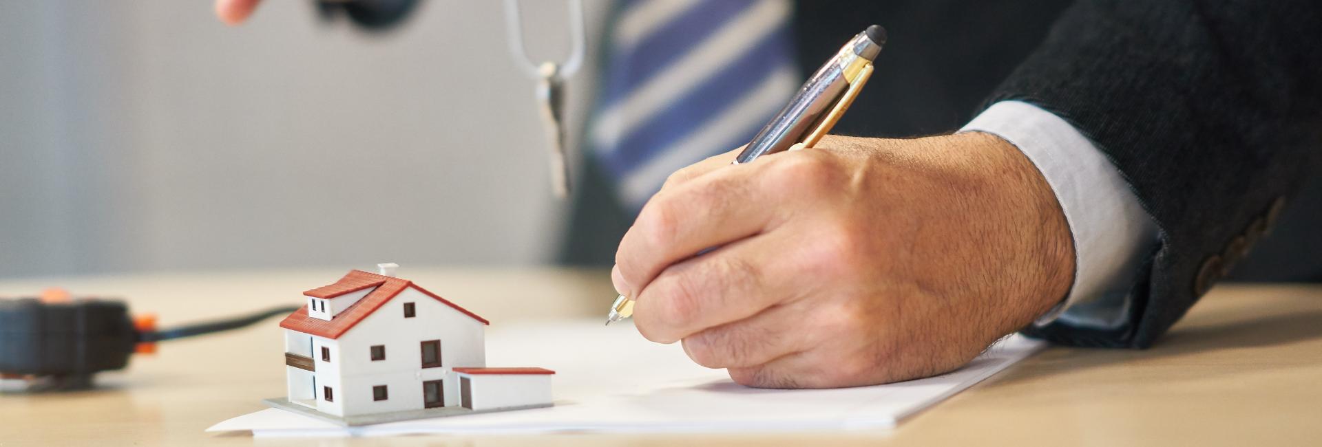Investeren in vastgoed tekenen compromis huis