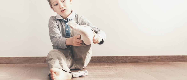 Mijn kind wil geen sokken aan:  5 tips inclusief de gouden tip