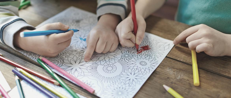 Kinder mandala inkleuren: uitleg en gratis kinder mandala kleurplaat